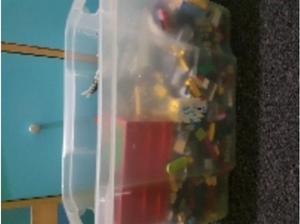 box of lego in Blackwood