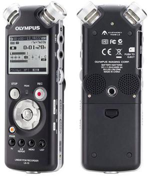 BRAND NEW OLYMPUS LS-10 LINEAR DIGITAL PCM AUDIO RECORDER