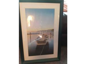 Framed picture of a boat in Gillingham