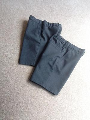 Grey school shorts