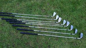 Hi for sale Hippo impact undercut sole irons set in good condition!