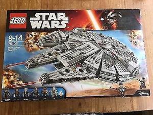 LEGO Star Wars Millennium Falcon () Brand New Sealed Box
