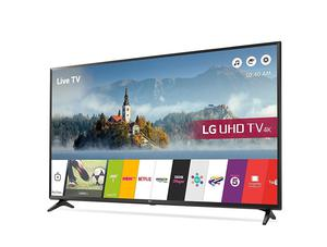 LG 49UJK Ultra HD Smart LED TV with Freeview Play