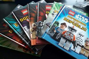 Lego Star Wars kids books x 8