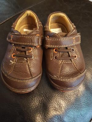 Like new Clarks first shoes size 5G