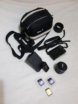 Nikon 1 JMP Digital camera - black (kit w/ VR mm f/ lens