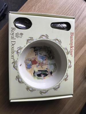 Royal doulton cup, spoon and plate