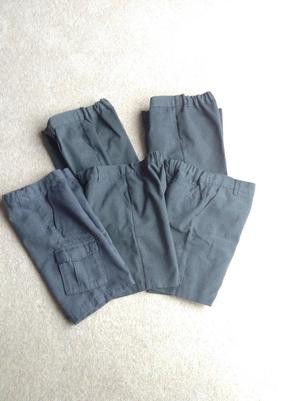 School trousers and shorts