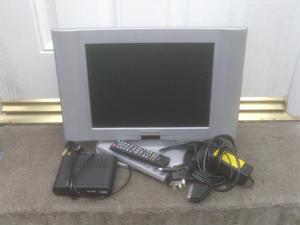 TV SMALL WITH FREE VIEW BOX £15 THE LOT