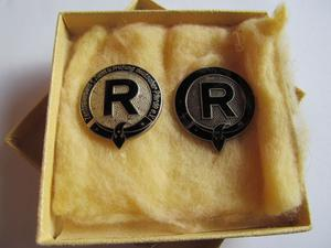 2 Badges for Breeding and Inspection - Rare