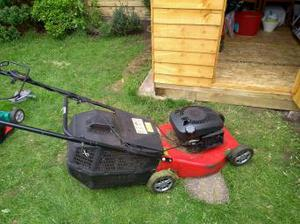 Petrol lawn mower for sale