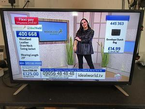 "Sharp 32"" hd freeview led tv great condition"