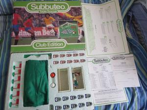 Subbuteo Club Edition Set VINTAGE + Subbuteo Application Form + EXTRA Items