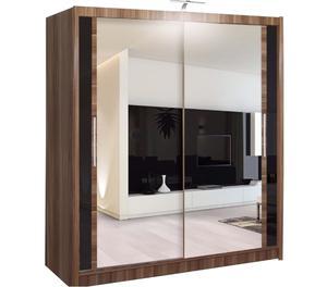 Brand New chicago full mirror 2 door bedroom wardrobe