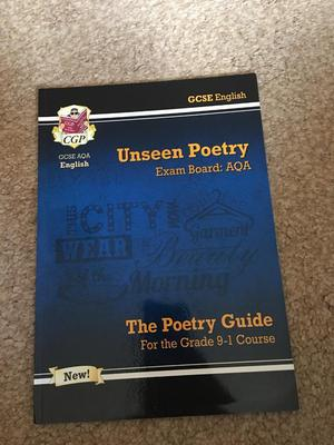 GCSE unseen poetry revision guide