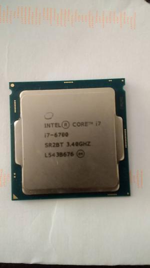 Intel i Quad Core 3.40 GHz Cpu