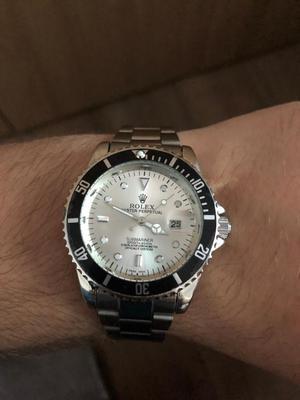 Rolex Submariner Black/White Watch