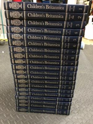 Set of Childrens Encyclopaedia Britannica,  edition
