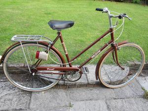 Vintage Raleigh Transit ladies bike