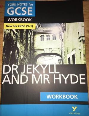 YORK NOTES Workbook for Dr Jekyll and Mr Hyde