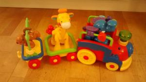 Fisher Price Animal Train with Animals