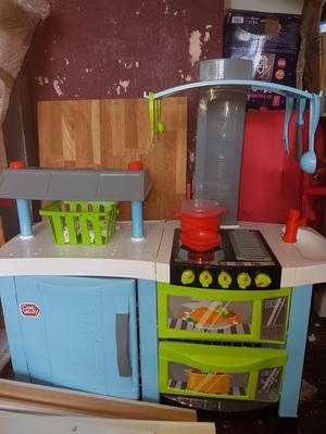 Kids toy kitchen