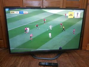 LG 47 Smart 3D tv with built in WiFi