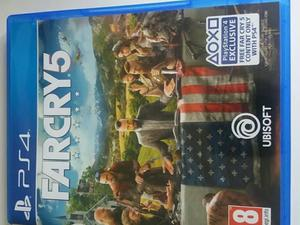 New PS4 game for sale far cry.5 bargain £30