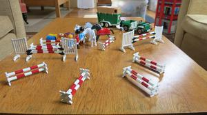Playmobil Equestrian Showjumping Set
