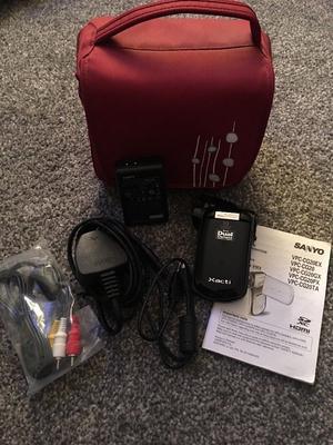 Sanyo Xacti dual camera HD camcorder