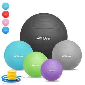 TRIDEER ANTI--BURST & ANTI -SLIP EXERCISE BALL 55cm