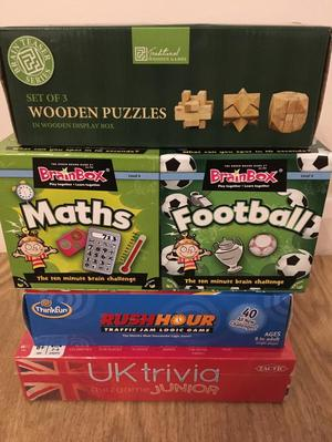Trivia and puzzle bundle (age 8+)