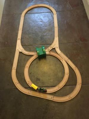 Wooden train set Brio
