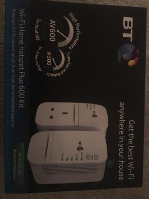 BT Wi-Fi Home Hotspot Plus 600 Kit