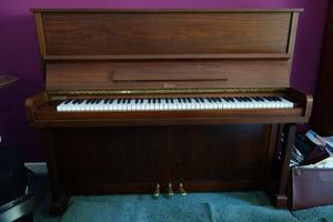 Calisia Upright Piano & Stagg Piano Stool
