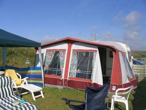 Full size bradcot caravan awning with bedroom 🥇 | Posot Class