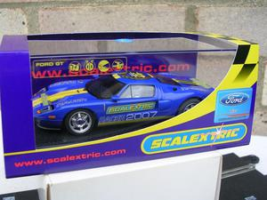"SCALEXTRIC C FORD GT ""SCALEXTRIC CLUB "":PRISTINE:NEW"