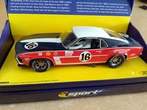 SCALEXTRIC SPORT CA FORD BOSS 302 MUSTANG No 16 Limited