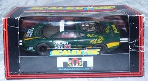 Scalextric 1:32 scale Boxed Slot Car. C.591. JAGUAR XJ220.