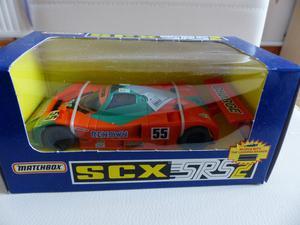 Scalextric SCX Mazda 787 Le Mans - Ref  Orange & Green