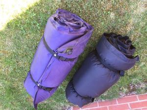Self inflating single camping matts