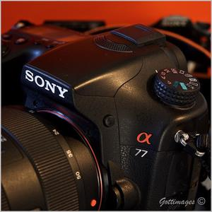 Sony a77 camera and lenses
