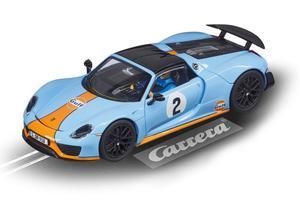 "Top Tuning Carrera Digital 132 - Porsche 918 Spyder "" Gulf """