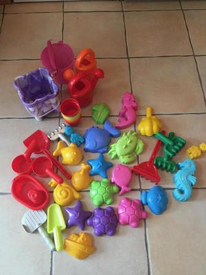 Collection of Outdoor Sand and Water Toys