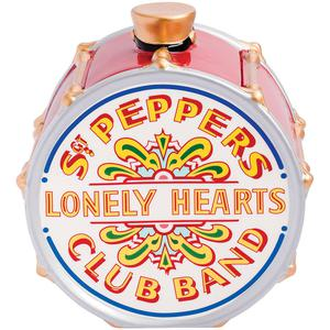 NEW Beatles Sgt Peppers Drum Shaped Ceramic Cookie Jar -
