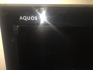 """Sharp Aquos 32"""" hd ready digital freeview lcd tv (made in japan)"""