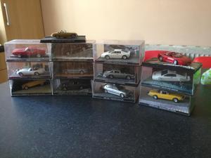James Bond cars collectible set
