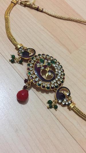 Peacock design Necklace