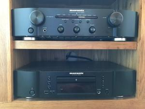 Marantz PM amplifier and Marantx CD CD player
