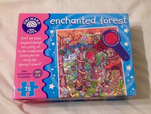 Orchard Toys Enchanted Forest Jigsaw Puzzle. Complete And Very Good Condition